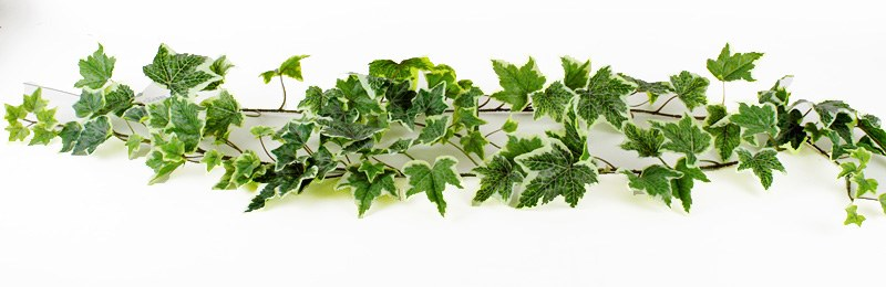 Artificial Frosted Ivy Garland 6ft