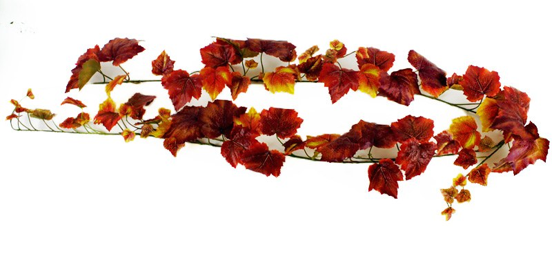Artificial Grape Ivy Garland Autumn 6ft
