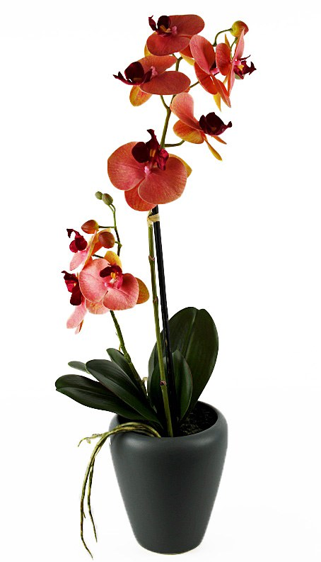 Artificial Orchid Planter- 61cm