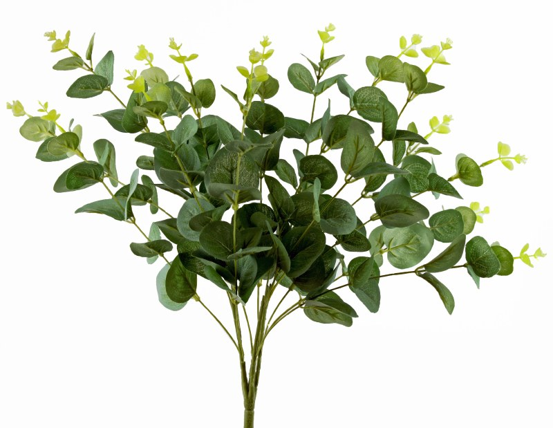 Artificial Eualyptus Bunch x 15 -50cm