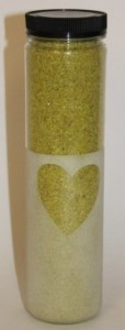 700grams lime green decorative sand
