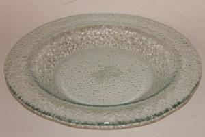 Glass clear dish