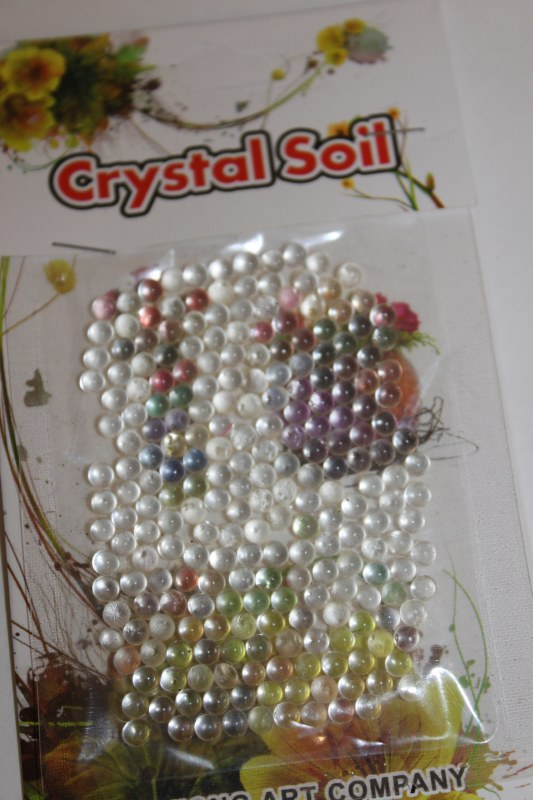 10g clear deco pearl beads