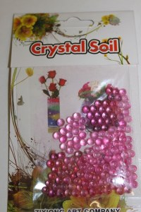 10g pink deco pearl beads