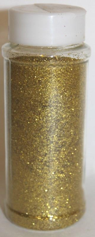 Gold florist glitter 100g