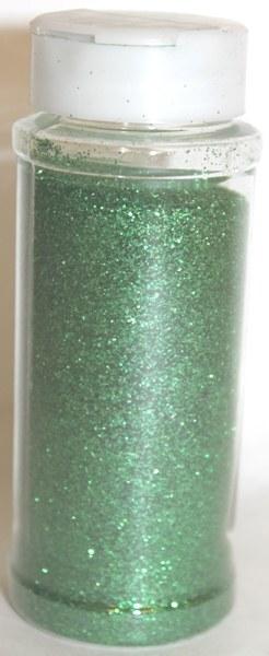 Green florist glitter 100g
