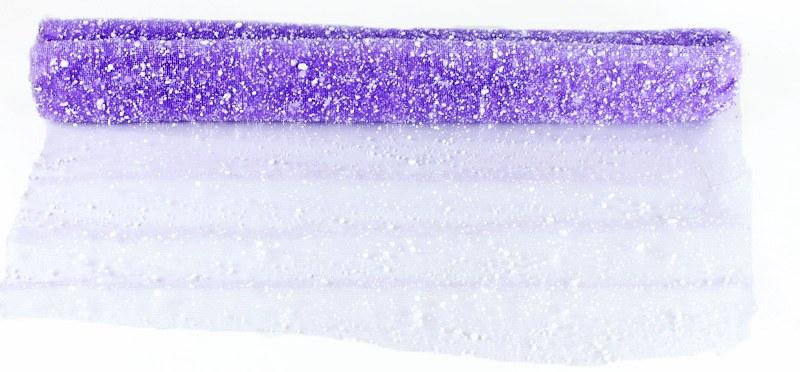 Lilac snow gift wrap