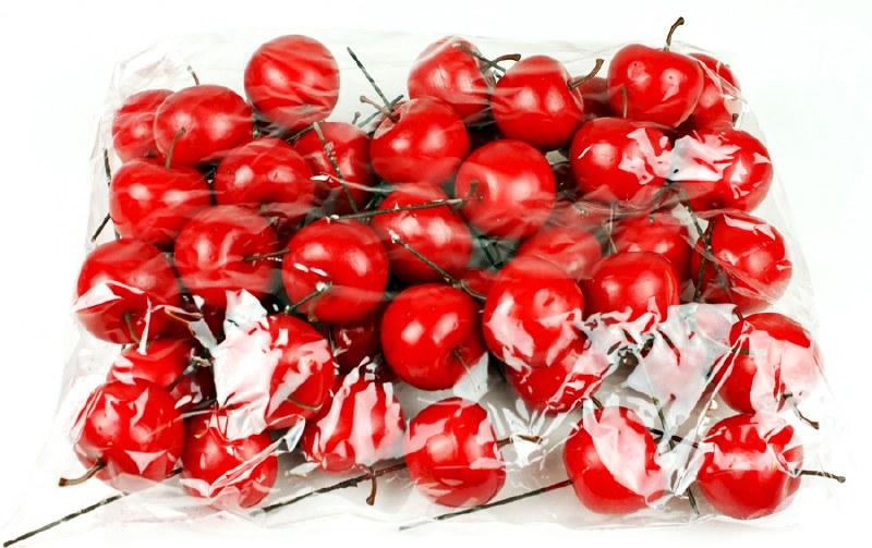 Decorative Red Artificial Apples 4.5cm x 50pcs