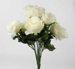 Artificial Rose Bunch x 7 Heads