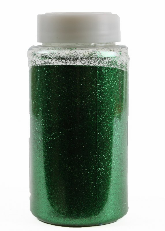 Florist Glitter Green 500g