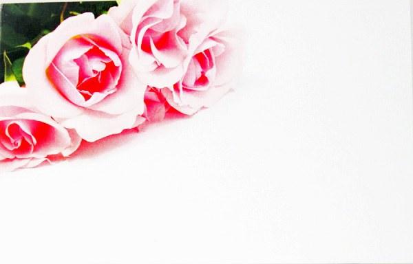 Florist Cards Small Rose x 50pcs