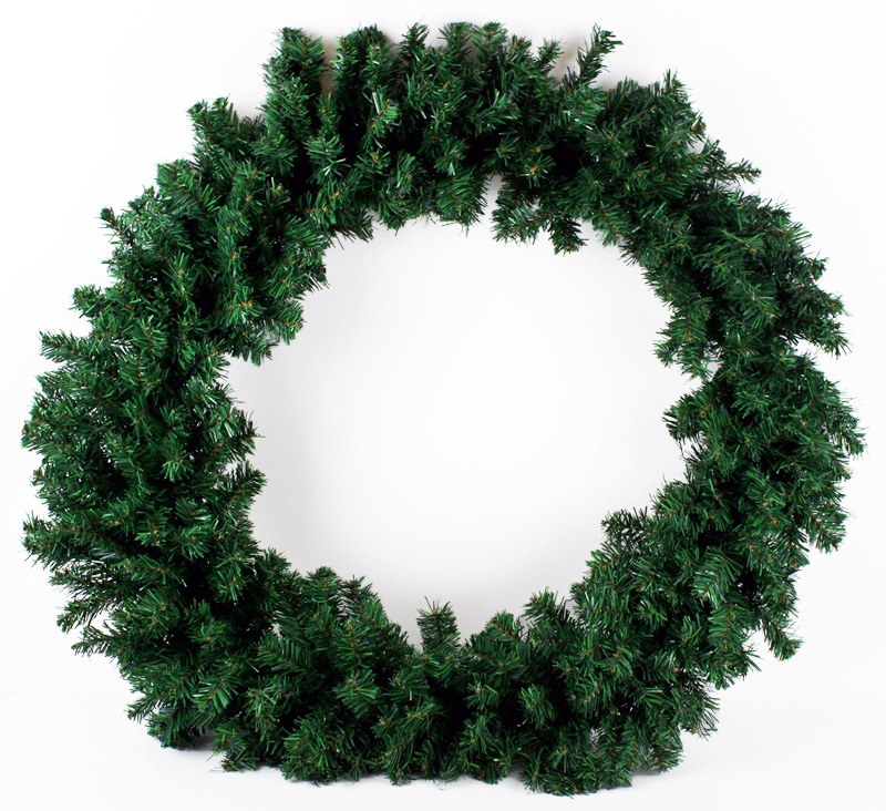 Christmas Artificial Spruce Wreath 60cm