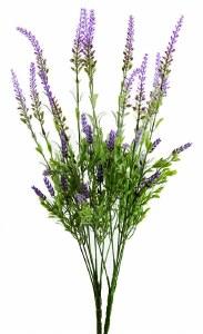 Artificial Lavender Bunch x 2 Stems