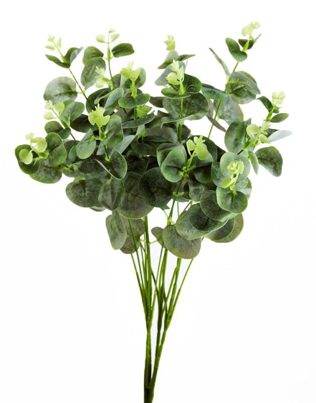 Faux Eucalyptus Bunch 48cm