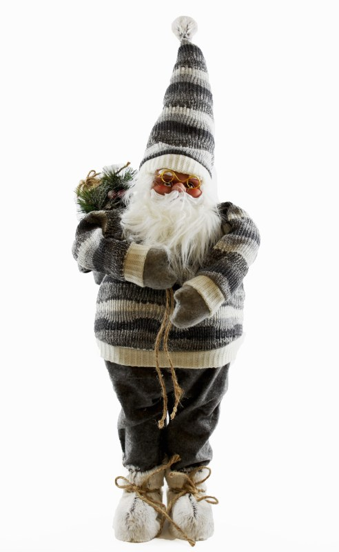 Christmas Nordic Decorative Standing Santa 36 x 25 x 89cm