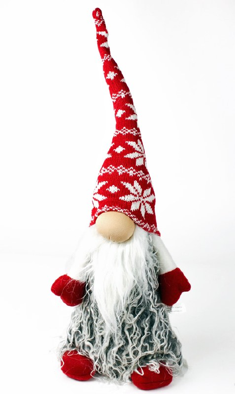 Christmas Nordic Santa 21cmx13cmx60cm