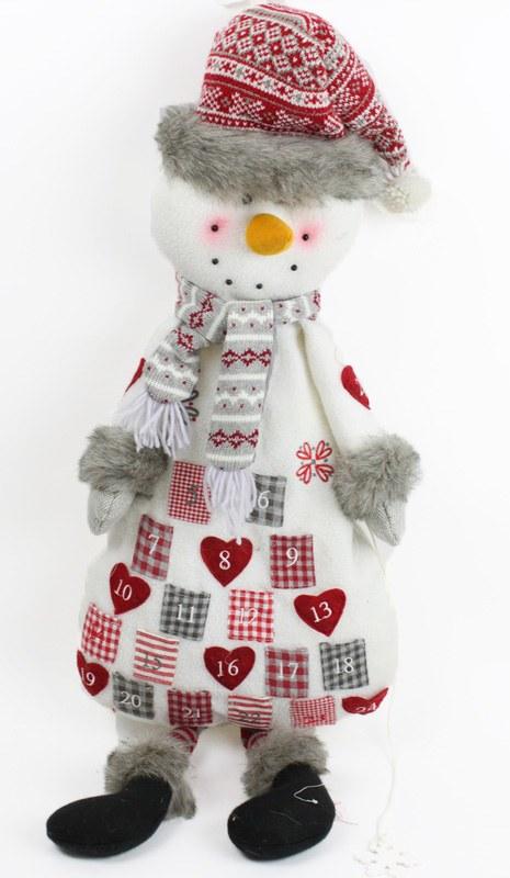 Snowman Advent Calendar 93cm