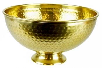 Metal Urn Gold 25cm