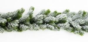 Christmas Snow Garland 190cm