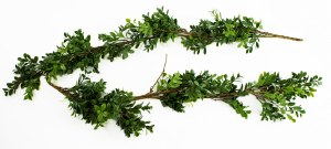 Artificial Boxwood Garland 5ft