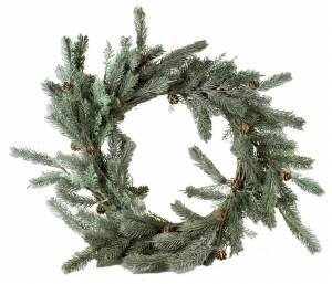 "Christmas Pine Cone Wreath 24"""