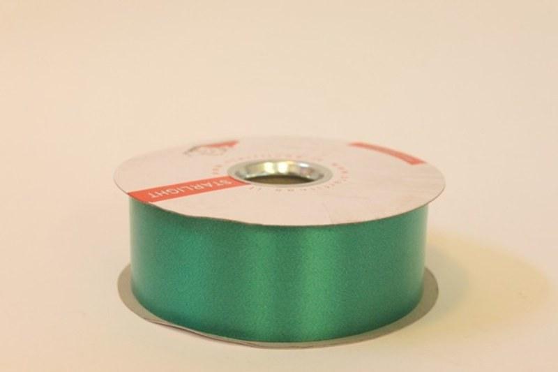 Emerald polytie florist ribbon, 100yds-P07
