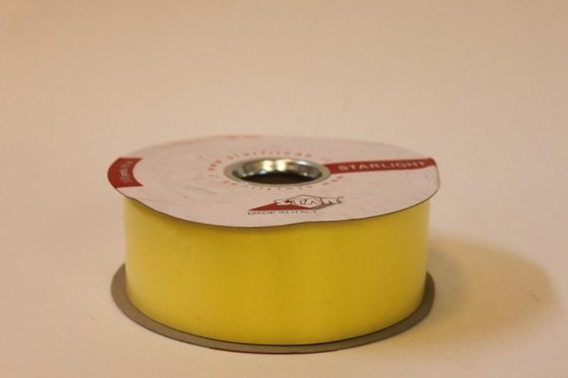 Lemon polytie florst ribbon, 100yds-P163