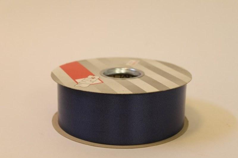 Navy blue polytie florist ribbon, 100yds-P165