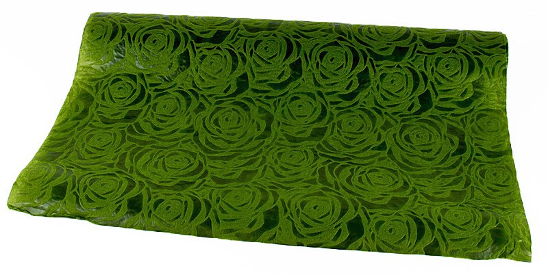Rose Florist Fabric Wrap 54cm x 5 Yards