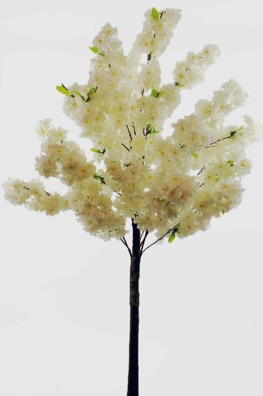 Artificial Cherry Blossom Tree Ivory 150cm