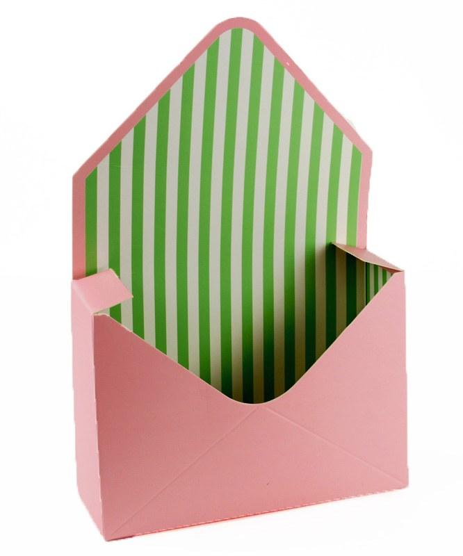 Envelope Flower Box Pale Pink x 10