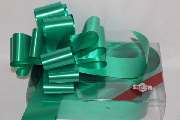 Emerald pullbows 50mm x 20pcs