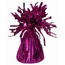 Hot pink foil balloon weight
