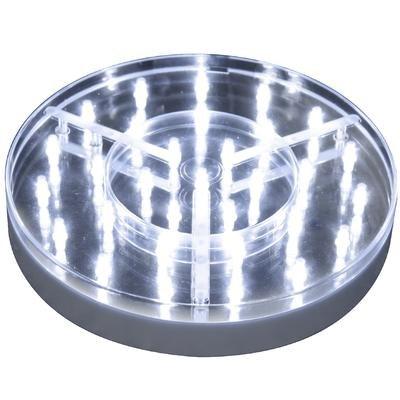 "Deco LED light Base For Vase 8"""