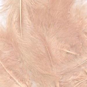 "Bridal Feathers Blush Rose 8g 3""-8"""