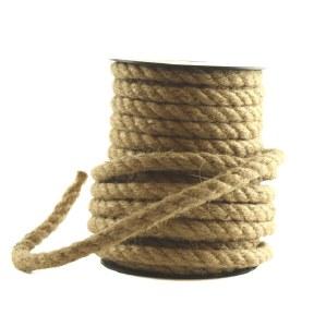 Burlap hessian cord 8mmx 10m approx