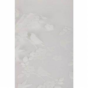 White bird/ blossom cellophane wrap 80cm x 100m