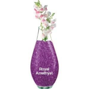 Royal amethyst Crystal accents 30g