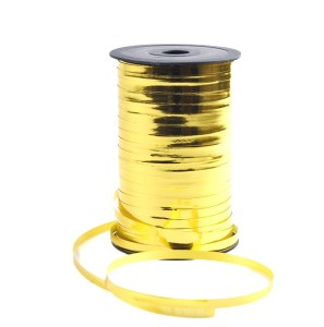 Gold metallic curling ribbon 250yards