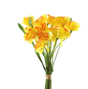 Artificial easter Daffodil bundle