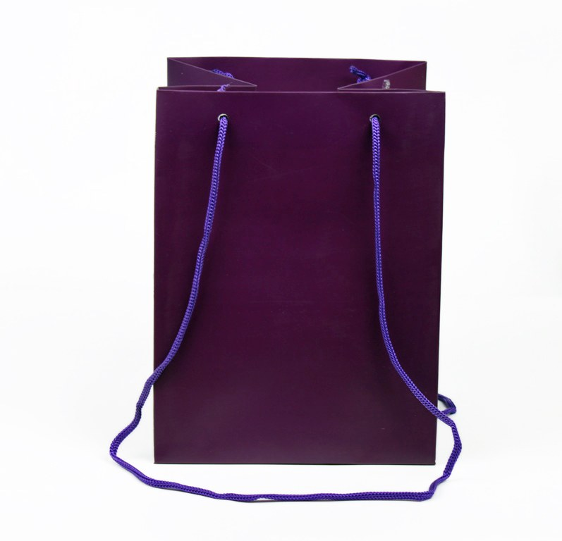 Deep Purple Florist Bags x 10