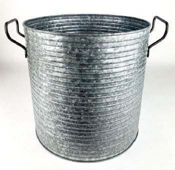 Zinc Planter Round 20cm x 20cm