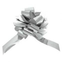 Pull Bows Metallic Silver