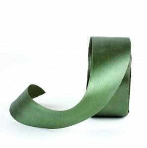 Moss satin ribbon 38mm x 25m