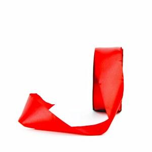 Red satin ribbon 38mm x 20m