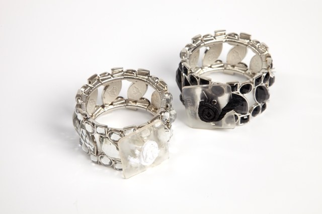 Splendid times corsage bracelet black