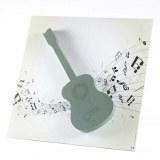 Oasis foto floral foam guitar 59x59cm