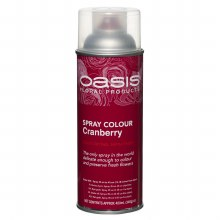 Cranberry Oasis florist spray paint,400ml