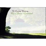 in  Loving memory of a dear Grandad florist cards x 50