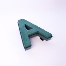 Oasis clip on foam letter A